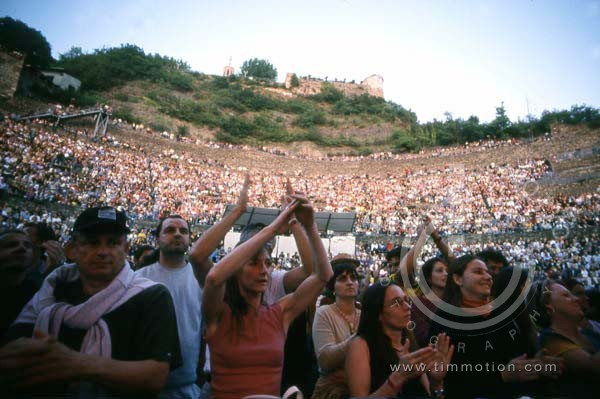 VIENNE Th�atre Antique and Audience