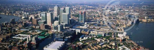 LONDON. Canary Wharf -Isle of Dogs